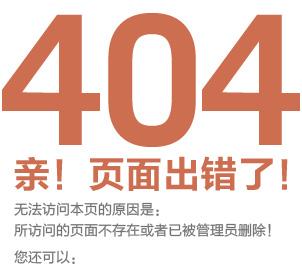 404页面