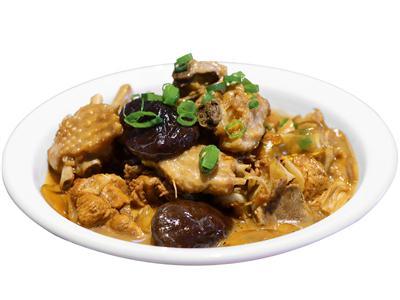 小公鸡炖蘑菇
