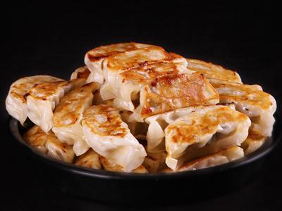 猪肉虾仁煎饺